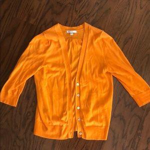Orange gap cardigan